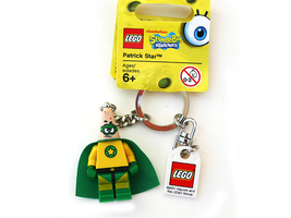 Набор LEGO 853357  Patrick Star Superhero Key Chain