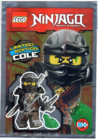 Набор LEGO 891727 Cole foil pack No.4