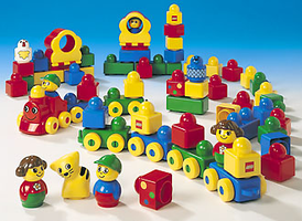 Набор LEGO 9003 Large Stack 'n' Learn Set (Vehicles)