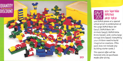Набор LEGO 9070 Super Value DUPLO Pack