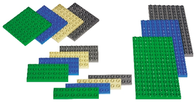 Набор LEGO 9079 Duplo Small Building Plates Set