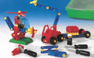Набор LEGO 9106 Duplo Toolo Medium Set
