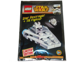 Набор LEGO 911510 Star Destroyer and TIE Fighter foil pack