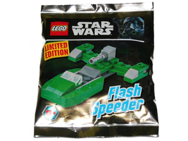 Набор LEGO 911618 Flash Speeder foil pack