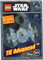 Набор LEGO 911722 TIE Advanced foil pack