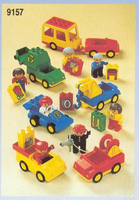 Набор LEGO 9157 Duplo Job Vehicles with Workers