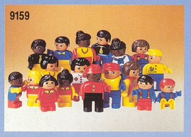 Набор LEGO 9159 Duplo Figures International - 18 figures