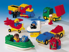 Набор LEGO 9178 Duplo Vehicles - Transportation