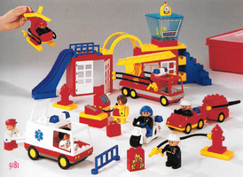 Набор LEGO 9181 Duplo Fire and Rescue