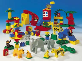 Набор LEGO 9189 Lego Duplo Animal and Fun Park