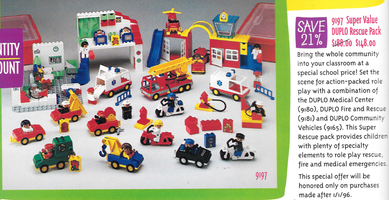 Набор LEGO 9197 Super Value DUPLO Rescue Pack