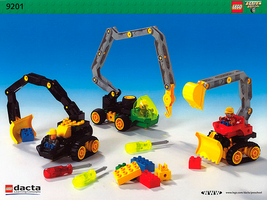 Набор LEGO 9201 Duplo Toolo (Action Wheelers) Medium Set