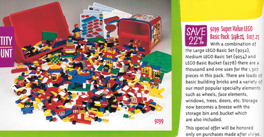 Набор LEGO 9299 Super Value LEGO Basic Pack
