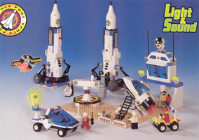 Набор LEGO 9300 Dacta Space Port Set