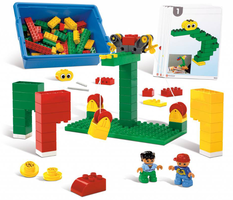 Набор LEGO 9660-3 Early Structures Set
