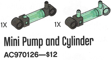 Набор LEGO 970126 Mini Pump and Cylinder