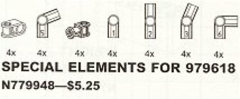 Набор LEGO 9948 Special Elements for 979618 (Structures Set)