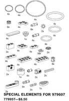 Набор LEGO 9957 Special Elements for 979607 (Technology Activity Set)