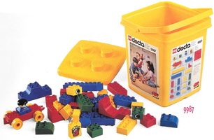 Набор LEGO 9987 Duplo Basic Preschool Kindergarten Bucket