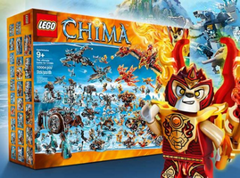 Набор LEGO bigbox The ultimate battle for CHIMA
