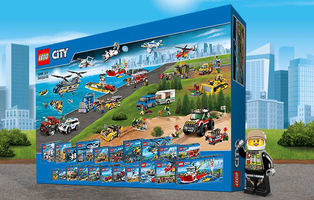 Набор LEGO citybigbox The Ultimate LEGO City Vehicles Box