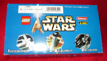 Набор LEGO kabstarwars Kabaya Star Wars Mini 6-pack box set  (2x 6963-1,  2x 6964-1,  2x 6965-1)