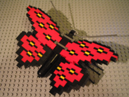 Набор LEGO LLCA32 Butterfly - Red Wings with Black / Yellow Spots (LLCA Ambassador Pass Exclusive)
