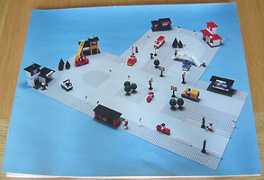 Набор LEGO pk1062 Lego Road Safety Kit Poster