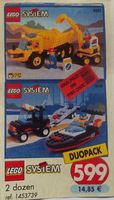 Набор LEGO VP-14 Classic Town Value Pack Duopack (6581 6596)