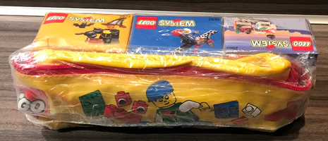 Набор LEGO VP-22 Triple Value Pack with Pencil Case (2849, 2872, 2885)